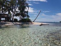 Île de paradis, San Blas, Panama Photo stock