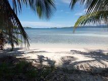 Île de paradis, San Blas, Panama Image stock