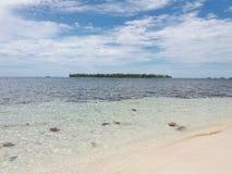 Île de paradis, San Blas, Panama Photos stock