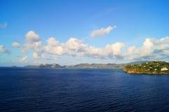 Île de paysage Photo stock