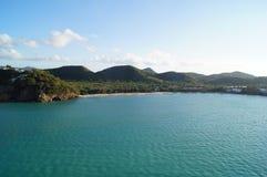 Île de paysage Image libre de droits