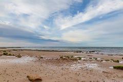 Île de paysage côtier de Wight Photo stock