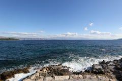 Île de paysage de Hvar Photos libres de droits