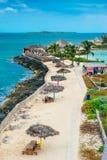 Île de perle à Nassau, Bahamas photos libres de droits