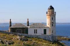 Île de phare de faible luminosité de mai Photo stock