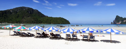 Île de phi de phi de Ko Photo libre de droits
