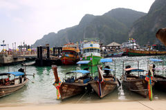 Île de phi de phi de Ko - Thaïlande Photographie stock