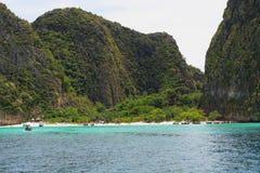Île de phi de phi de KOH Image libre de droits