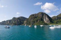 Île de phi de phi, Thaïlande Photographie stock