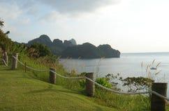Île de phi de phi - Thaïlande Photographie stock libre de droits