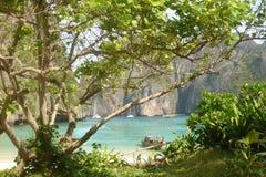 Île de phi de phi - Thaïlande Photographie stock