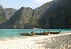Île de phi de phi - Thaïlande Images libres de droits