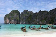 île de Phi-phi Photos stock