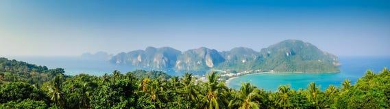 Île de Phi-Phi Photo libre de droits