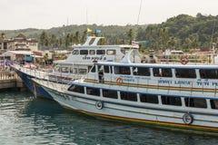 Île de phi de phi, Thaïlande Photos libres de droits