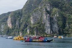 Île de phi de phi, Thaïlande Image libre de droits
