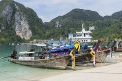 Île de phi de phi, Thaïlande Image stock