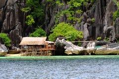 Île de Philippines Coron Photographie stock