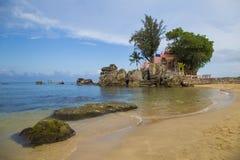 Île de Phu Quoc dans un coin d'un jour ensoleillé Images libres de droits