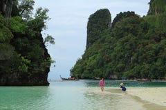 Île de pièce, Hong Island photo stock