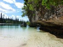 Île 4 de pins Image libre de droits