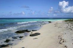 île de plage d'anagonda Photo libre de droits