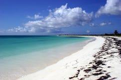 île de plage d'anegada Photos stock