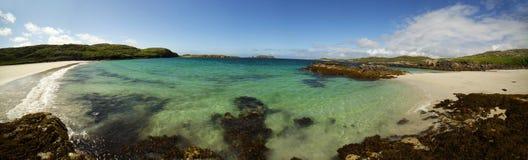 Île de plage de Harris Images stock
