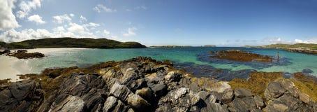 Île de plage de Harris Photos libres de droits