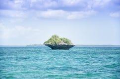 Île de plat Photo libre de droits