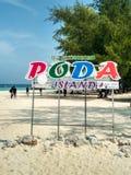 Île de Poda images stock