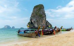 Île de Poda chez Krabi Images stock