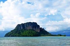 Île de Poda outre d'ao Nang en mer d'Andaman photo libre de droits