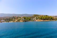 Île de Poros, Grecce Photos libres de droits