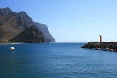 île de port de gran de canaria Image libre de droits
