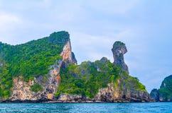 Île de poulet dans Krabi Thaïlande Photo libre de droits