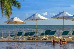 Île de Praslin, Seychelles dans l'Océan Indien Image libre de droits
