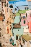 Île de Procida, port de Corricella Images libres de droits