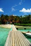 Île de Pussers, Îles Vierges britanniques Image stock
