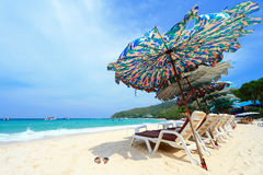Île de réseau local de KOH, Pattaya image libre de droits