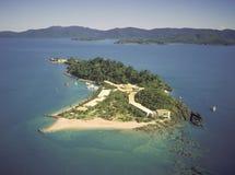 Île de rêverie photos stock