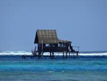 Île de Raiatea, île de Tahaa, Tahiti Photographie stock libre de droits