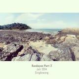 Île de Randayan Images stock