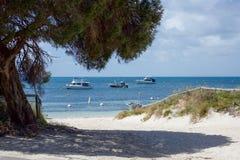Île de Rottnest : Vacances de luxe Images libres de droits