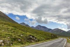 Île de route de Skye photo libre de droits