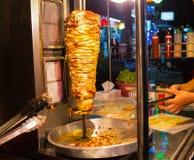 Île de rue de nourriture sur la route photographie stock