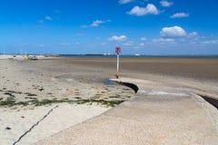 Île de Ryde de Wight Angleterre Image stock