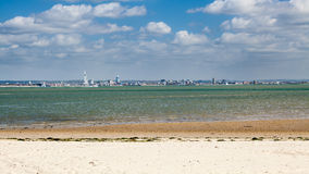 Île de Ryde de Wight Angleterre Photos libres de droits