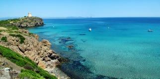 Île de S.Antioco Photos libres de droits