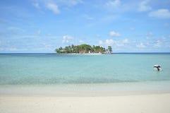 Île de Samber Gelap, Kotabaru, Bornéo du sud, Indonésie photo libre de droits